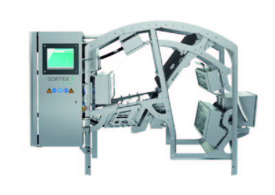Buhler Sortex Optical Sorter for food industry inspection